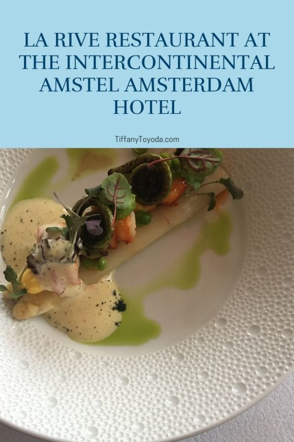 la rive restaurant restaurants in amsterdam with a view amstel amsterdam hotel
