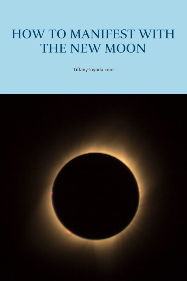 """Image for blog post """"how to manifest with the new moon"""""""